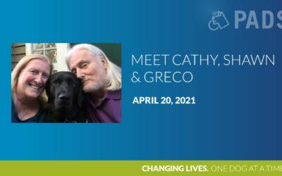 Cathy, Shawn & Greco